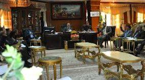 مجلس جامعة المثنى يعقد الجلسة المفتوحة الاولى