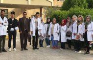 القاء محاضرة في مستشفى الامام الحسين عليه السلام