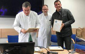 حصول الاستاذ الدكتور اسامة الداغر على شهادة عالمية من جامعة هانوفر الالمانية