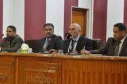 رئيس جامعة المثنى يعقد اجتماعا موسعا لعمداء ومجالس كليات الجامعة