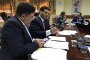 لجنة وزارية تشيد في المجموعة الطبية في جامعة المثنى