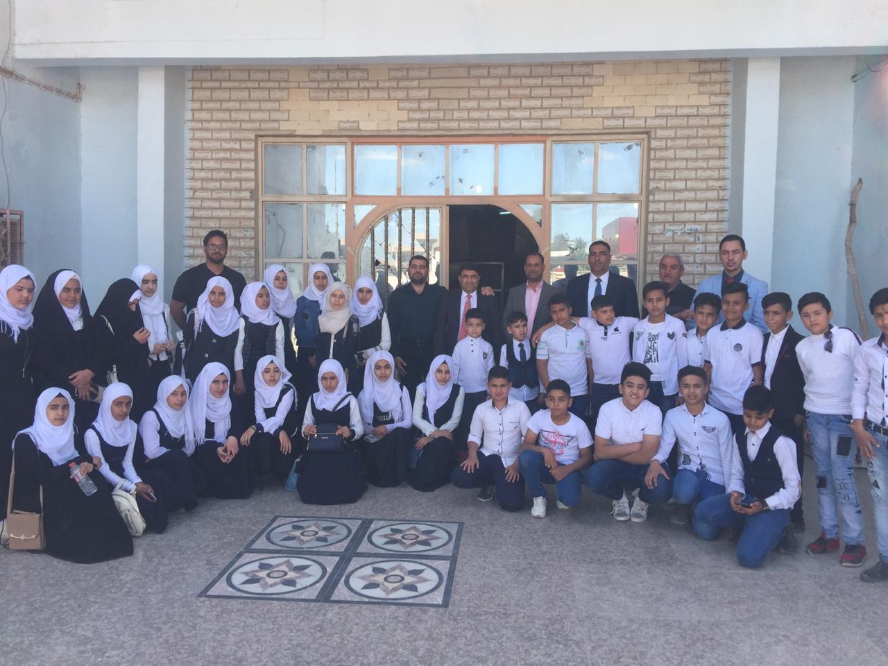 زيارة مدرسة الجوادين الاهلية